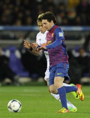 Messi dan Neymar Ternyata Akrab