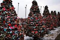 Gembok cinta di Seoul (koreanmaniac.com)