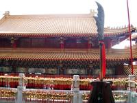 Penampakan bagian dalam kuil