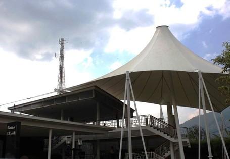 Satu Lagi Masjid Keren di Kawasan Puncak Selain Attaawun!