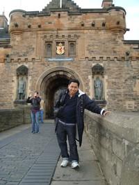 Saya dan Edinburgh Castle