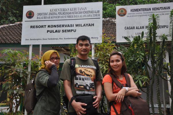 Starting point Pulau Sempu