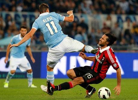 Lazio Tekuk Milan 3-2
