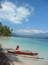 Dermaga kecil di Pulau Balak