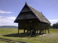 Rumah Adat Mandar, salah satu suku terbesar di Mamuju Sulawesi Barat