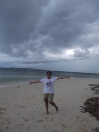 Menikmati kecantikan Pulau Buaya