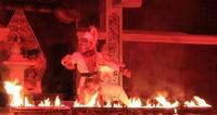 Hanoman tertangkap dan dibakar