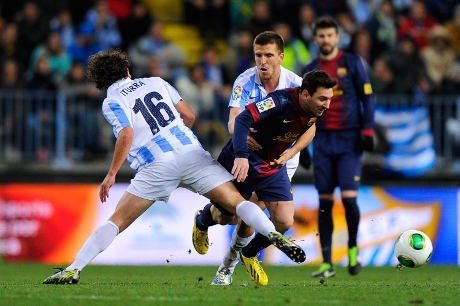 Singkirkan Malaga, Barca Jumpa Madrid di Semifinal