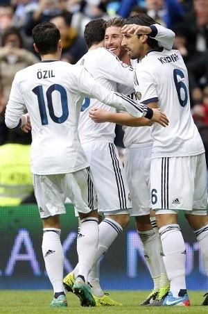 \Madrid dalam Semangat yang Tinggi\