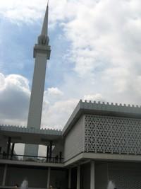 Menara Masjid Nasional Kuala Lumpur