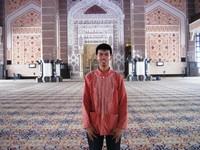 Pemenang Gowes Keliling Malaysia Salat Zuhur dan Ashar (Di Jama)