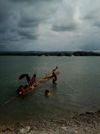 Anak-anak di Pulau Ajaib yang sedang berenang
