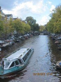 Kanal di Kota Amsterdam