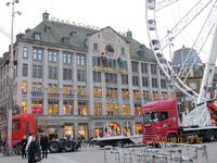 Suasana di kota Amsterdam