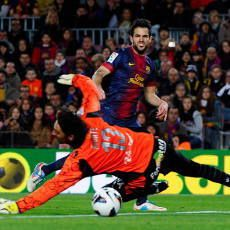 Fabregas Hat-trick, Barca Gilas Mallorca 5-0