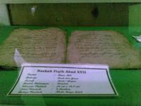 Naskah kuno di museum