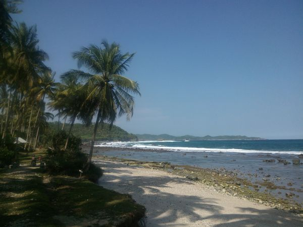 Pantai Pidaan yang cantik