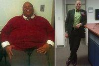 Marlon Gibson kecanduan terhadap makanan, yang membuat bobot tubuhnya mencapai 182,25 kg. Namun semuanya rela ditinggalkan demi istri dan anaknya. Marlon mulai rutin berolahraga dan mengurangi porsi makan. Setelah melalui perjuangan yang terbilang tidak mudah, Marlon berhasil menurunkan berat badan sebanyak 112,5 kg. (Foto: Huffingtonpost)