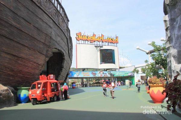 Seru! Wisata ke Jungleland di Sentul City