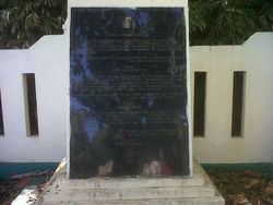 Siapa Sangka, Spanyol Punya Monumen di Maluku Utara