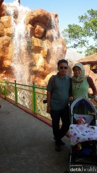 Happy Family Momen istimewa bersama Anaia ke Taman Matahari