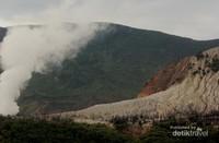 Hutan Mati terlihat dari Pondok Saladah
