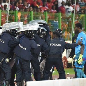 Laga Sempat Rusuh, Grant pun Risaukan Keselamatan Pemain Ghana