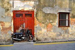 Begini Penampakan Street Art Keren di Penang, Malaysia