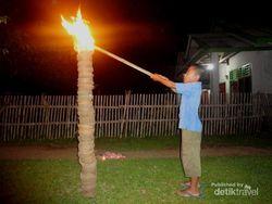 Nujuhlikur, Tradisi Bakar-bakaran di Bengkulu Jelang Lebaran