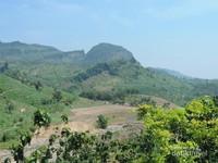 Perbukitan di wilayah selatan Bojonegoro