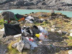 Hari ke-13: Ya Ampun, Gunung Tertinggi di Indonesia Kok Ada Sampah?