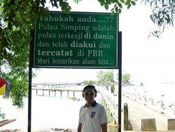 Pulau Terkecil Sedunia Ada di Indonesia