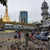 Menilik Yangon di Kala Monsoon