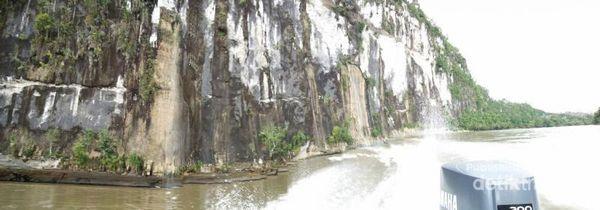 'Tembok Raksasa' Di Mahakam Ulu, Kalimantan Timur