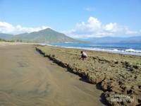 Selain tempat berwisata, penduduk lokal juga memanfaatkan pantai ini sebagai tempat mencari cacing laut untuk umpan memancing. Konon katanya cacing - cacing di pantai ini sangat besar dan panjang