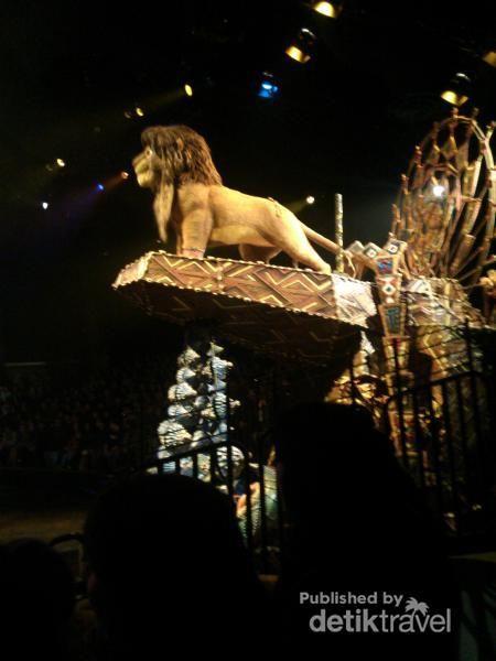 Liburan Ke Hong Kong, Coba Tonton Pertunjukan Festival The Lion King