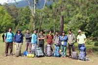 Kami saat kemping bersama di Bumi Perkemahan Mandalawangi