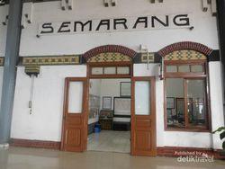 Yang Kadang Terlupa dari Stasiun Terbesar di Semarang