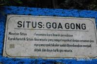 Bukan Gelap Tapi Punya Aneka Warna Cantik, Ini Goa Gong di Pacitan