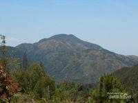 Pendakian Gunung Lawu melalui jalur Cemoro Sewu, start awal kita akan melihat pemandangan seindah ini.