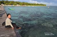 Pulau Sabakattang. Pulau berpenduduk di Kepulauan Balabalakang yang paling dekat di capai dari pesisir Kota Balikpapan