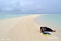 Gusung Bulan Sabit. Gusung ini sangat dipengaruhi pasang surut air laut. Jika pasang naik, gusung ini tidak terlihat. Gusung ini terletak diantara 2 pulau yaitu Pulau Anak Sumanga dan Pulau Sumanga biasa disebut Gusung Sumanga. Memiliki spot terumbu karang yang indah