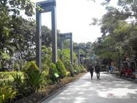 Salah satu sudut Taman bungkul
