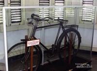 Sepeda yang sering di gunakan Bung Karno