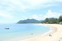 Pantai di Kawasan Lhoknga Aceh Besar