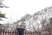 Saya saat berada di Taman Nasional Seoraksan