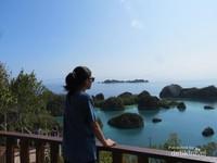 Spot mendunia, menikmati keindahan pulau Pianemo