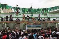 Salah satu tradisi masyarakat muslim keturunan India di Masjid Muhammadan