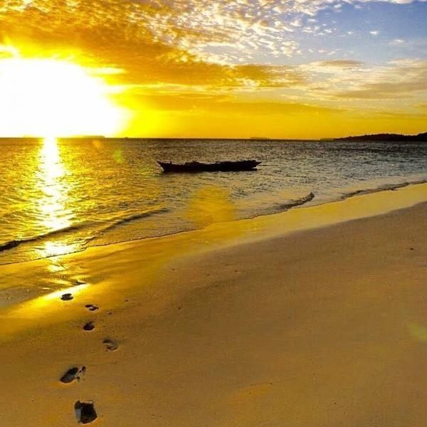Soal sunset, lihat sendiri, Masya Allah!