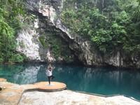 Spot foto di Danau Biru Kolaka